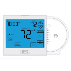 EWC EWT-955WH Wireless Touchscreen Thermostat