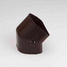 "Fortress LCFO122B 4-1/2"" 45 Degree Brown Outside Vertical Elbow"
