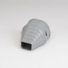 "Fortress LEN92G 3-1/2"" Gray End Fitting"
