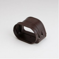 "Fortress LFJ122B 4-1/2"" Brown Flexible Adaptor"