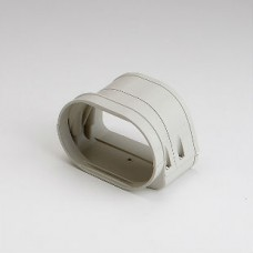 "Fortress LFJ122I 4-1/2"" Ivory Flexible Adaptor"