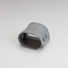 "Fortress LFJ92G 3-1/2"" Gray Flexible Adaptor"