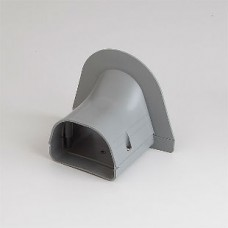 "Fortress LP92G 3-1/2"" Gray Soffit Inlet"