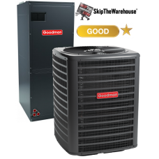 Goodman 1.5 Ton Heat Pump System 14 SEER