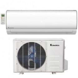 Klimaire KSIF009-H115-S(W) 9,000 BTU 15.2 SEER Ductless Mini Split Inverter Heat Pump WiFi Enabled System - 115V