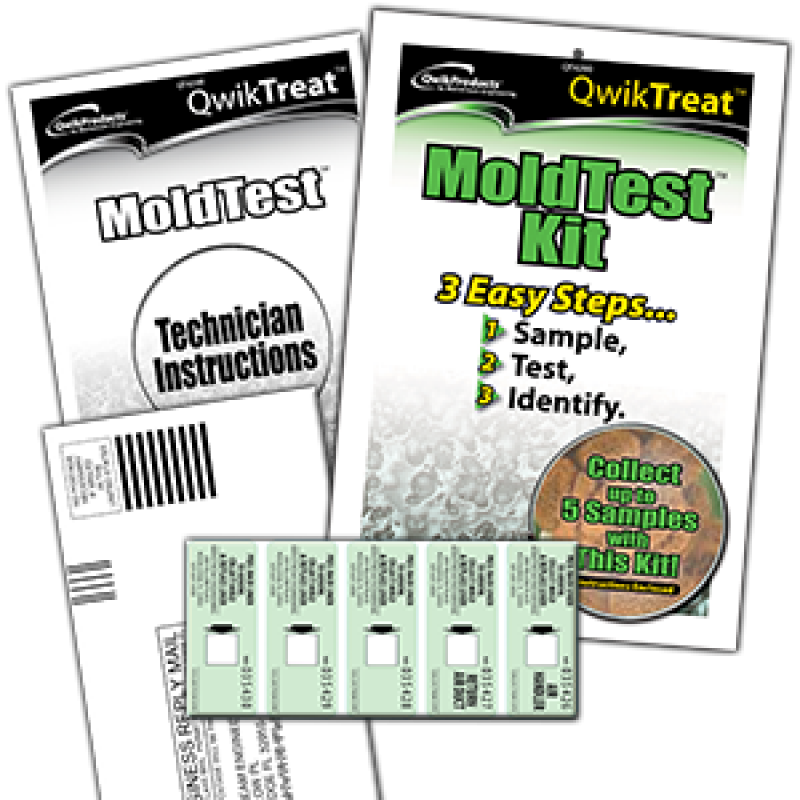 Home Qwiktreat Qt4200 Mold Test Kit Click Image For Gallery