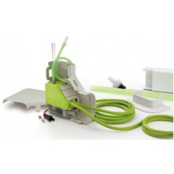 Aspen ASP-MLF-UNI Mini Lime Condensate Pump - 100-230 Volt (with Fortress white lineset Cover)