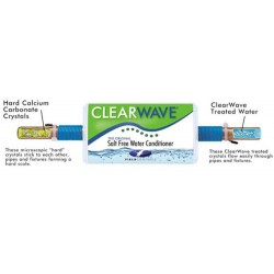 ClearWave - Easy Install Do-it-yourself Water Conditioner - No Plumbing Involved
