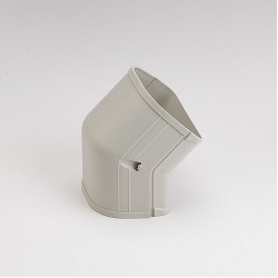 "Fortress  LCFO92I 3-1/2"" 45 Degree Ivory Outside Vertical Elbow"