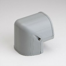 "Fortress LCO122G 4-1/2"" 90 Degree Gray Outside Vertical Elbow"