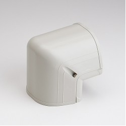 "Fortress LCO122I 4-1/2"" 90 Degree Ivory Outside Vertical Elbow"