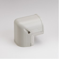 "Fortress LCO92I 3-1/2"" 90 Degree Ivory Outside Vertical Elbow"