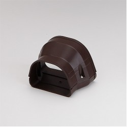 """Fortress LDR12292B 4-1/2"""" x 3 1/2"""" Brown Reducer"""
