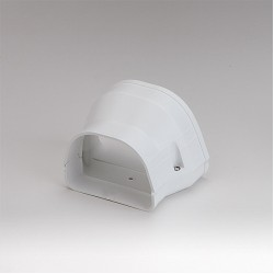 """Fortress LDR12292W 4-1/2"""" x 3 1/2"""" White Reducer"""