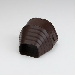 "Fortress LEN122B 4-1/2"" Brown End Fitting"