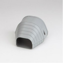 "Fortress LEN122G 4-1/2"" Gray End Fitting"