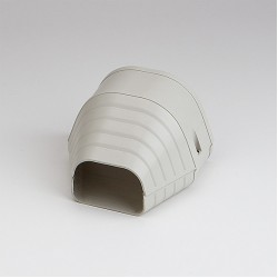 "Fortress LEN122I 4-1/2"" Ivory End Fitting"