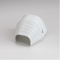 "Fortress LEN122W 4-1/2"" White End Fitting"