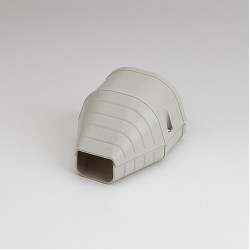 "Fortress LEN92I 3-1/2"" Ivory End Fitting"
