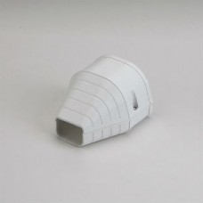 """Fortress LEN92W 3-1/2"""" White End Fitting"""