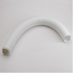 "Fortress LF122W 4-1/2"" White Flexible Elbow 40"" Long"
