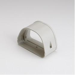 "Fortress LJ122I 4-1/2"" Ivory Coupler"