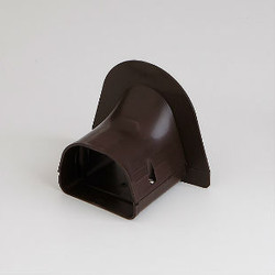 "Fortress LP92B 3-1/2"" Brown Soffit Inlet"