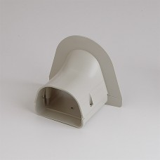 "Fortress LP92I 3-1/2"" Ivory Soffit Inlet"