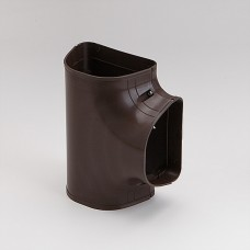 "Fortress LT122B 4-1/2"" Brown Tee"