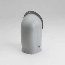 "Fortress LW122G 4-1/2"" Gray Wall Inlet"