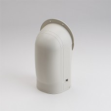 """Fortress LW122I 4-1/2"""" Ivory Wall Inlet"""