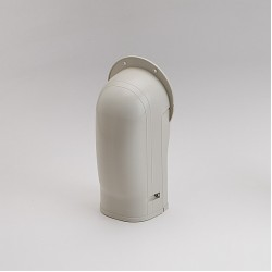 "Fortress LW92I 3-1/2"" Ivory Wall Inlet"