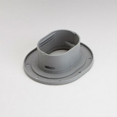 "Fortress LWF122G 4-1/2"" Gray Wall Flange"