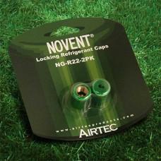 Rectorseal 86662 Novent Green Locking Refrigerant Caps