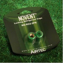Rectorseal 86662 Novent Green Locking Refrigerant Caps
