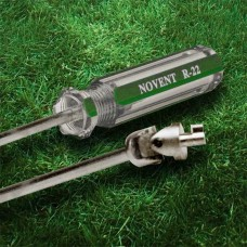 Novent 86660 Locking Refrigerant Cap Screwdriver Key For Green & Silver NG-R22SDT