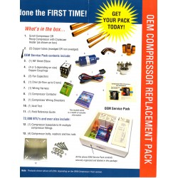 OEM Scroll Compressor Pack