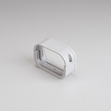 """SlimDuct SFJ100W 3-3/4"""" White Flexible Adapter"""