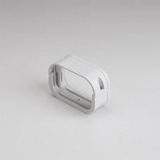 "SlimDuct SFJ77W 2-3/4"" White Flexible Adaptor"