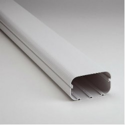 """SlimDuct SD140 78"""" x 5 1/2"""" Length of Line Set Ducting"""