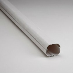 "SlimDuct SD77W 78"" x 2-3/4"" Length of White Line Set Ducting"