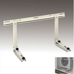Wall Condenser Bracket, Powdercoat WBB500 Holds Up To 500 lb