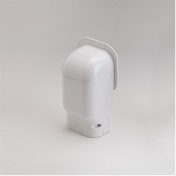 SlimDuct White Wall Inlet 5-1/2""