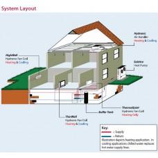 Spacepak HW-06-ECM HighWall Cooling and Heating Unit