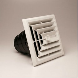 Airtec MV3 3-Way White Ceiling Diffuser
