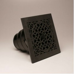 Airtec MVASB Antique Black Ceiling Diffuser