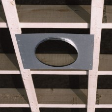 "Airtec 81954 Rough-In Flange 24"" Frame, 7"" Hole"