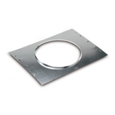 """Airtec 81954 Rough-In Flange 24"""" Frame, 7"""" Hole"""