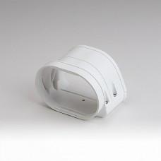 "Fortress LFJ122W 4-1/2"" White Flexible Adaptor"