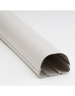 "Fortress LD122W 4-1/2"" White Lineset Ducting"